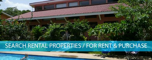 Search Rental Properties in Costa Rica
