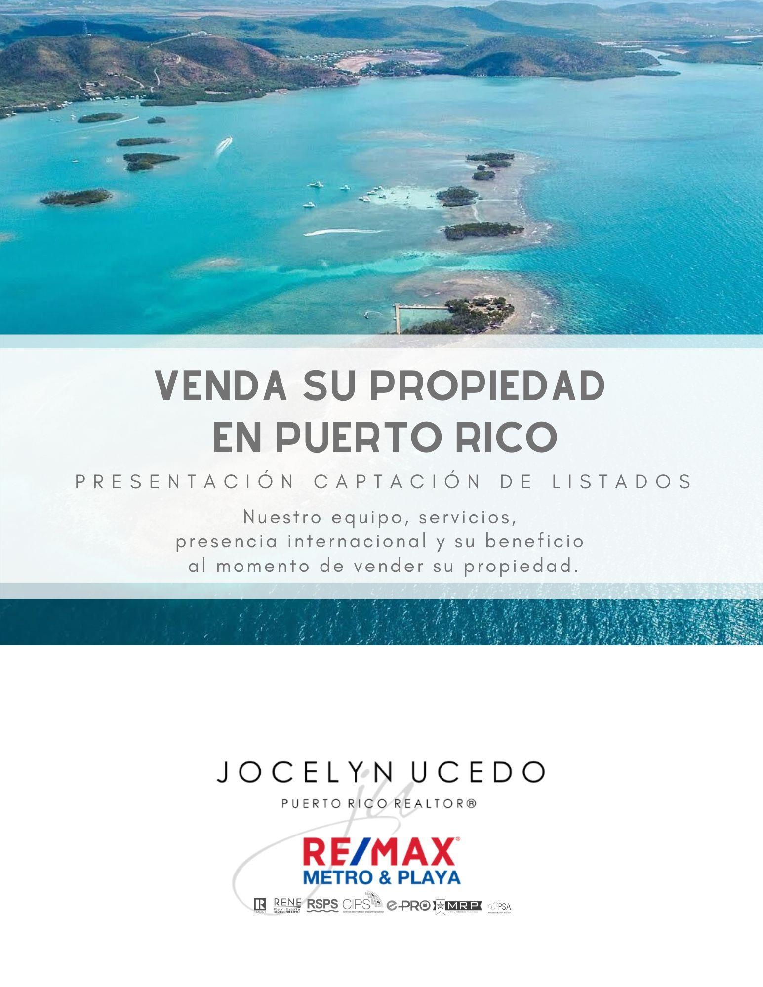 Venda su propiedad en Puerto Rico con REMAX