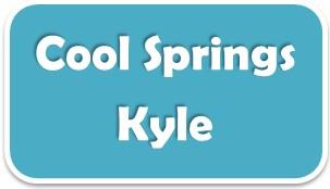 Temporary sign for Kyle's Cool Springs subdivision 78640