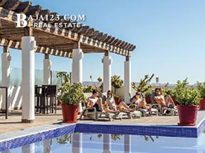Rosarito Beach Condo Hotel Pool