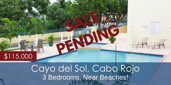 Cayo del Sol condo for sale in Cabo Rojo, near beaches!