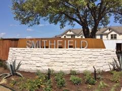 Smithfield Townhomes sign