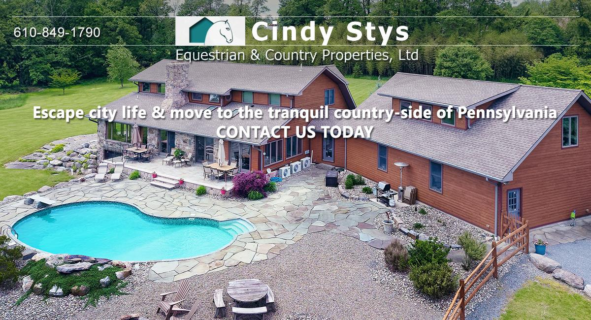 Pa Horse Farms For Sale Cindy Stys Equestrian Country Properties Ltd