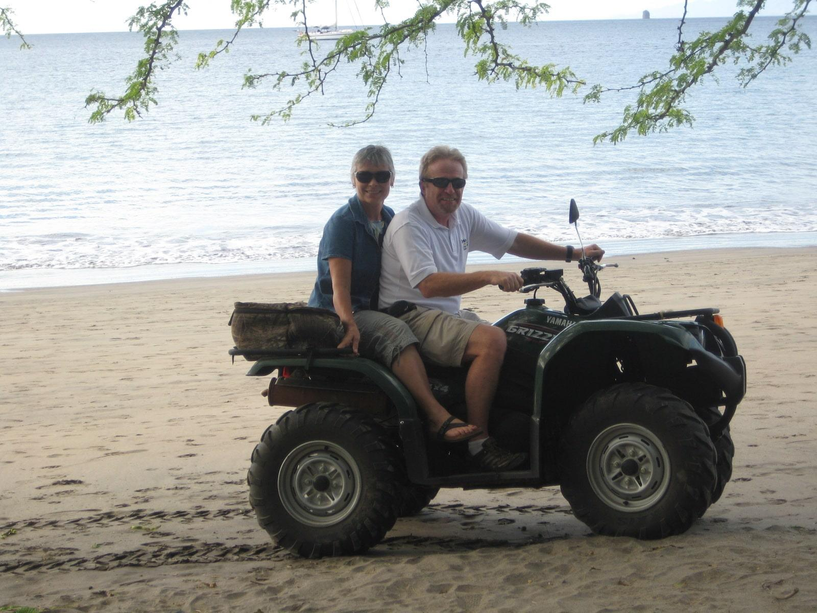 Herb & Donna DeMars in Costa Rica
