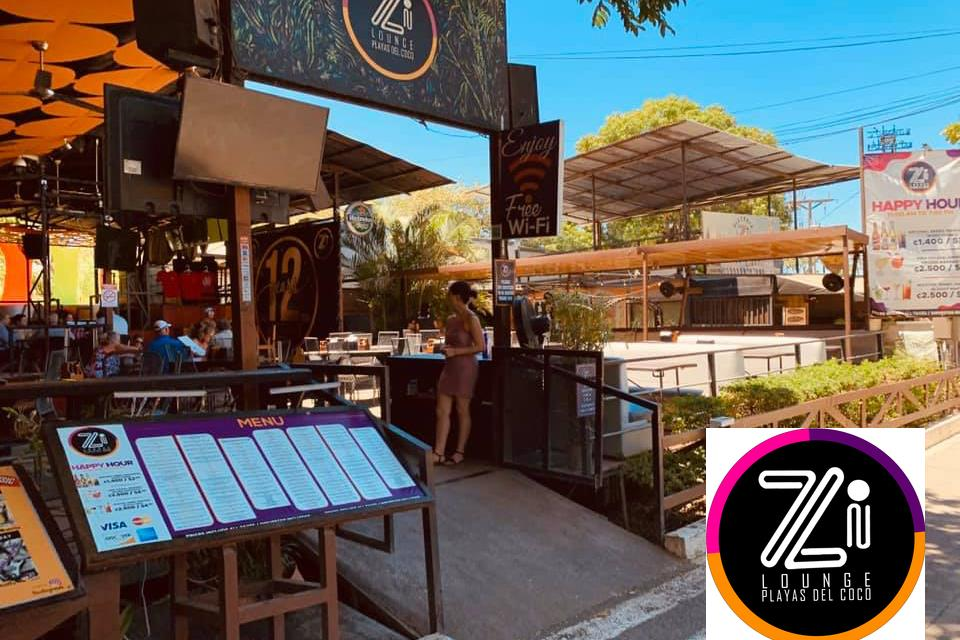 Zi Lounge, Playas del Coco, Costa Rica