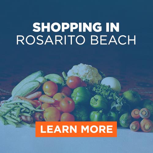 Shopping in Rosarito Beach