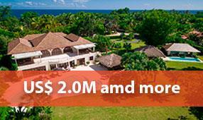 properties 2m and more in casa de campo
