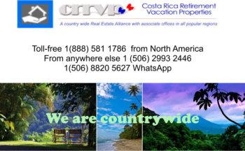 Costa rica building lots all regions