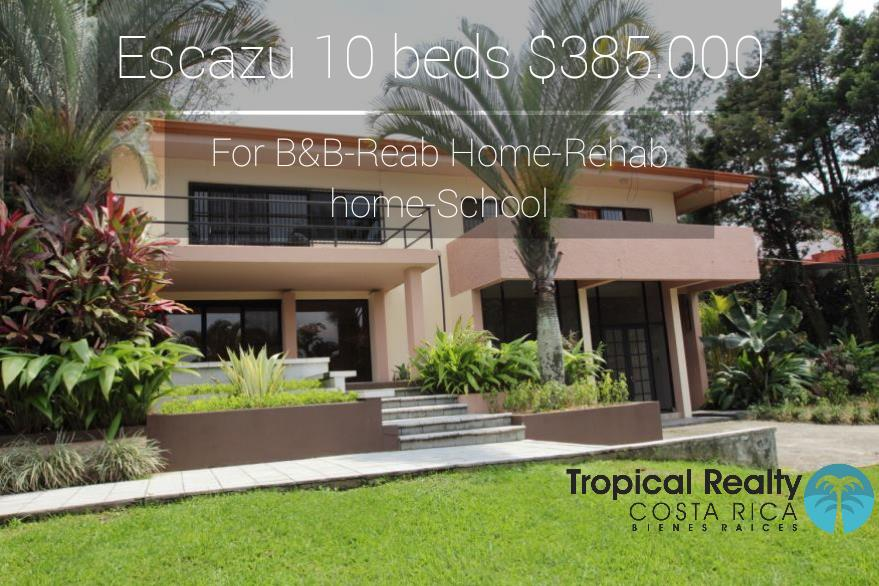 House for Hotel School Rehab B&B Escazu