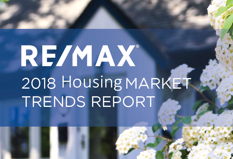 RE/MAX Housing market trends report 2018