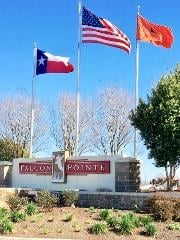 Falcon Pointe Pflugerville Sign