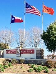 Falcon Pointe Pflugerville Sign