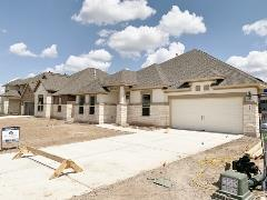 New homes in the 6 Creeks, Kyle, neighborhood
