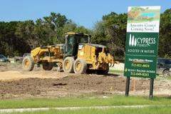Future amenity center in Cypress Forest