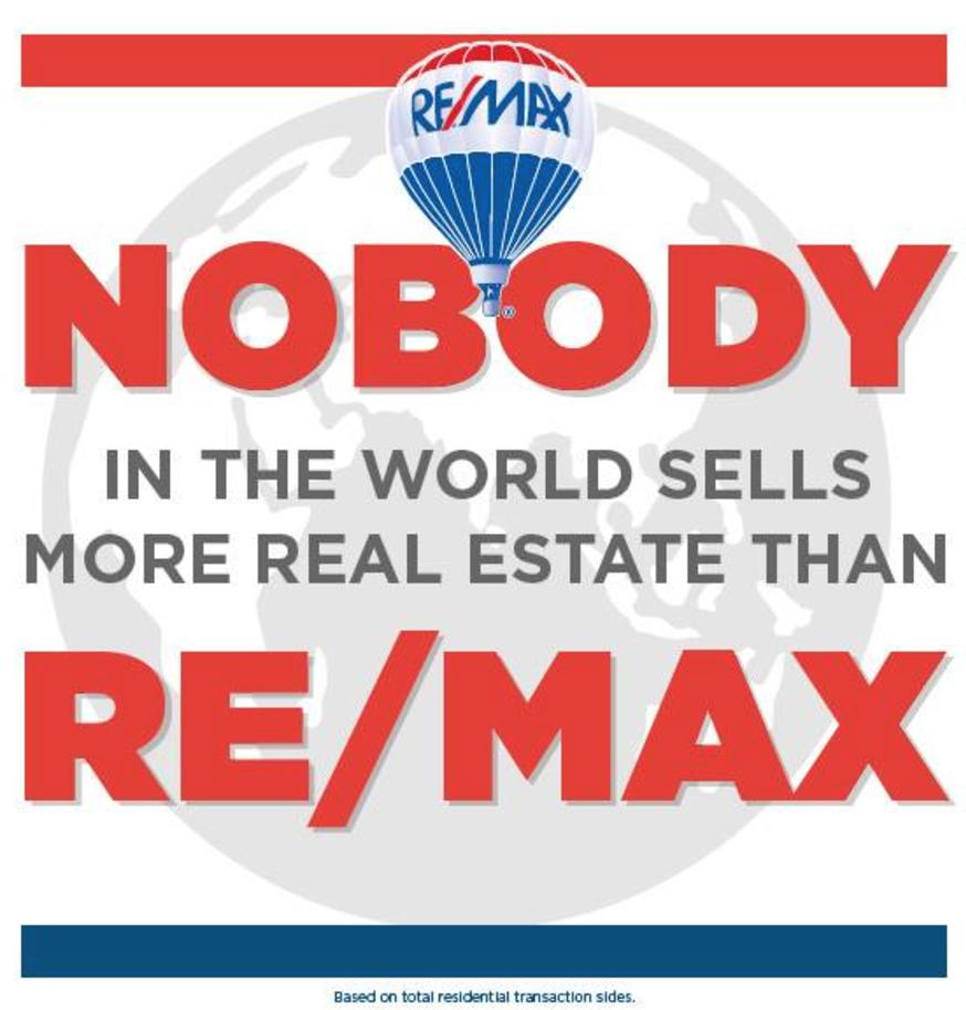 RE/MAX - sells more real estate