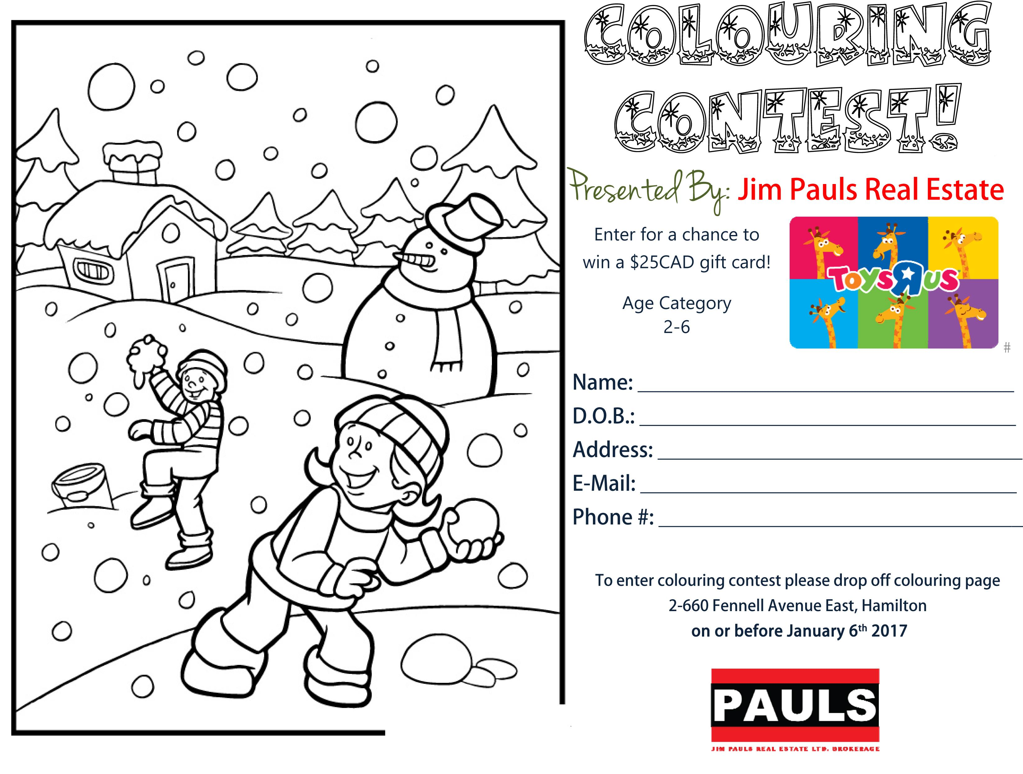 2-6 Colouring Contest