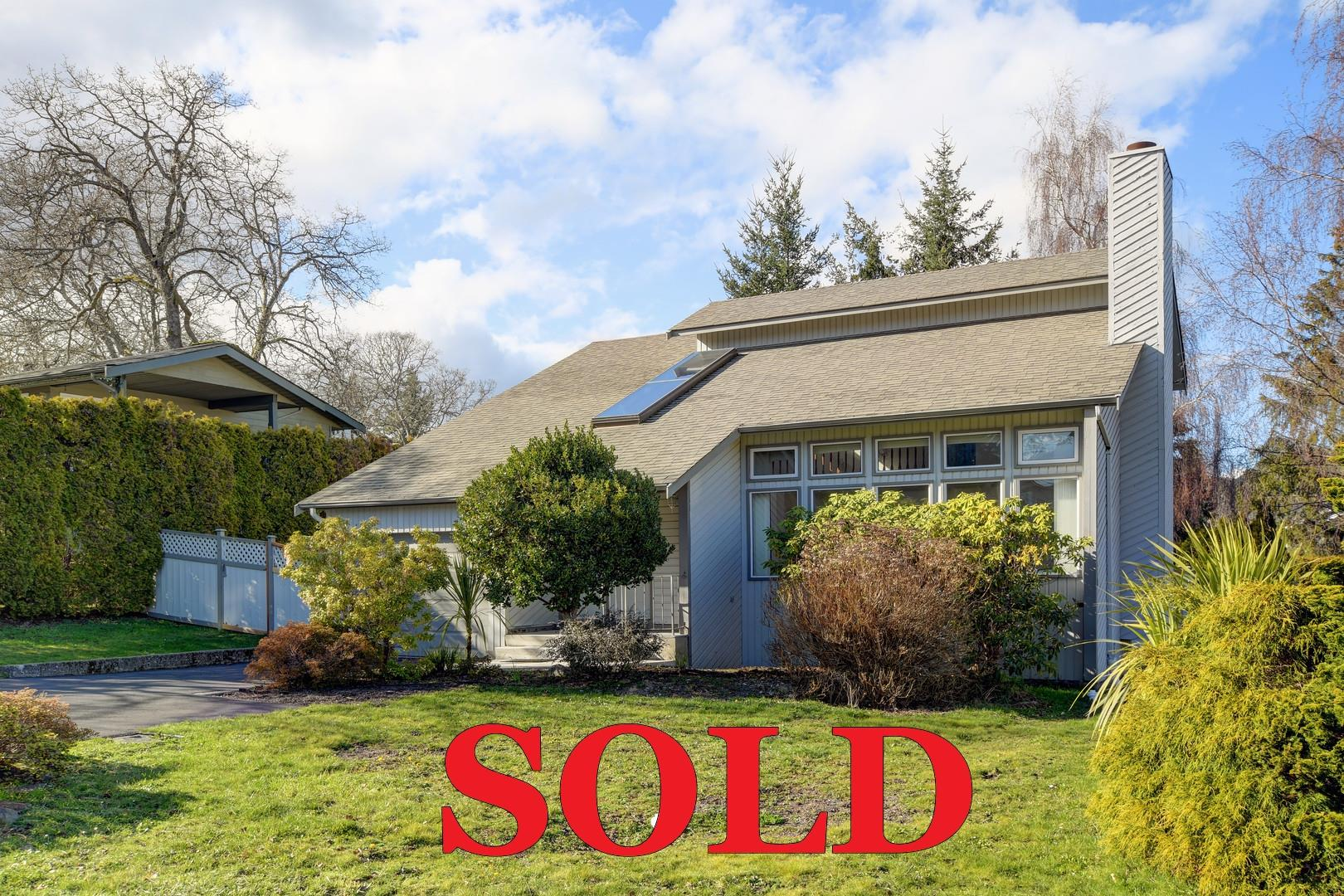 Sold by David Stevens, Thelma Place, Victoria, BC