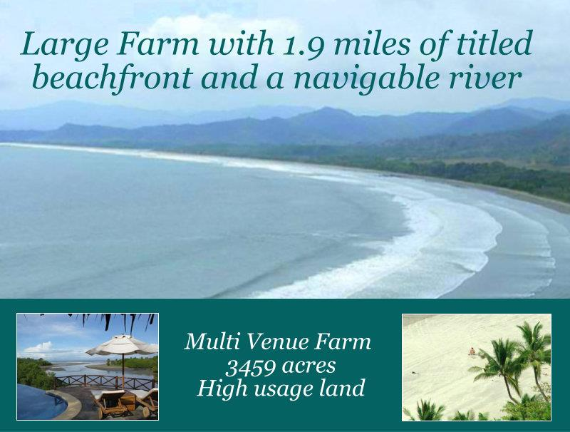 Titled beachfront property for sale in Costa Rica
