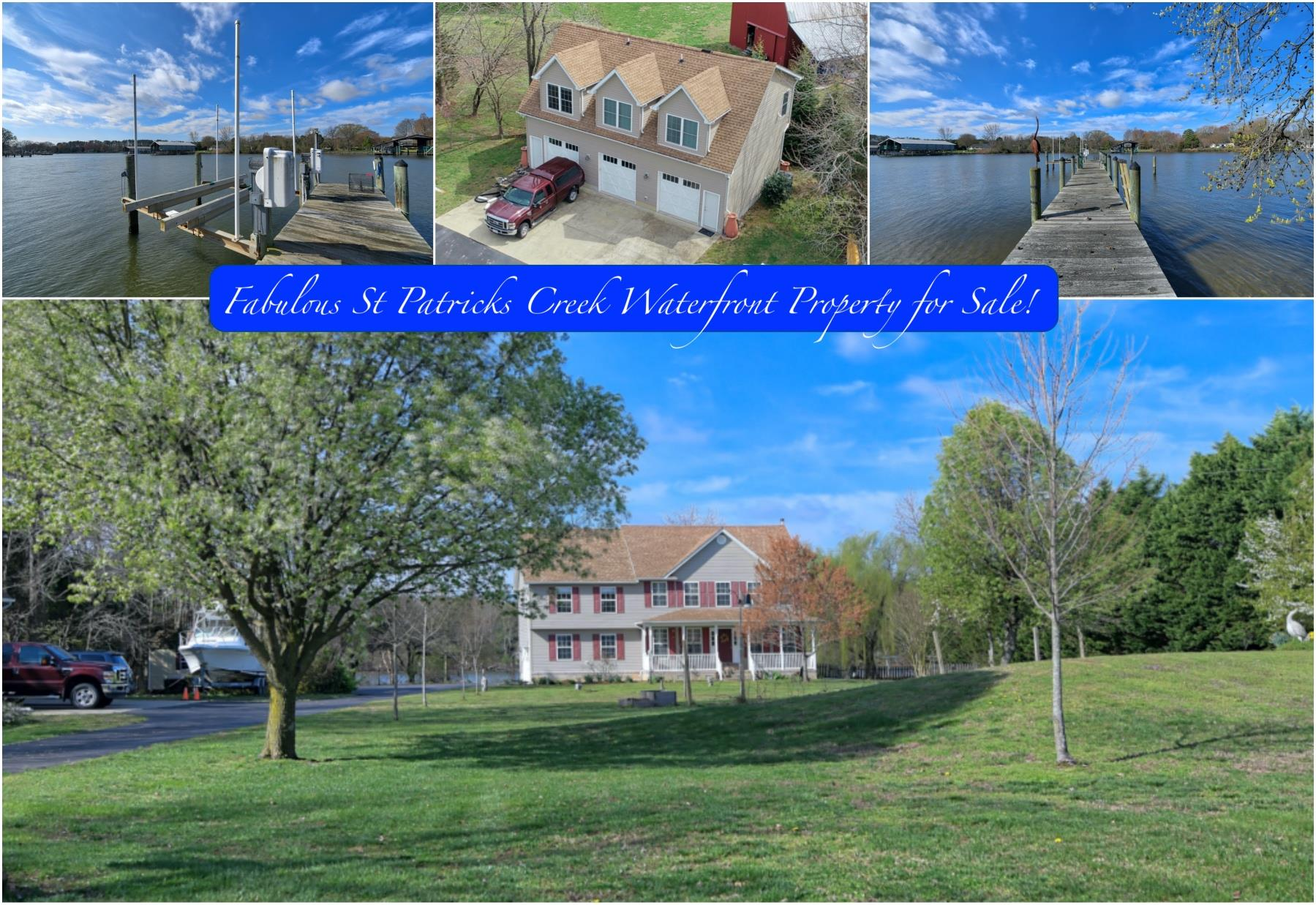20955 Oakland Hall Road / Avenue MD / St Marys County Waterfront / Southern Maryland Waterfront Property for Sale!