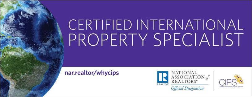 Certified International Property Specialist (CIPS)