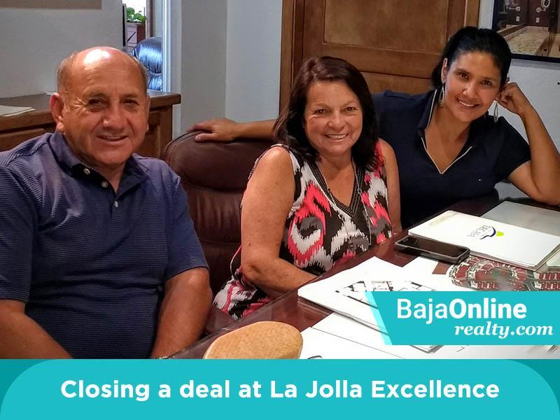Zinnia Closing A Del At La Jolla Excellence