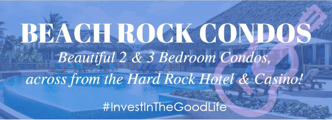 Beach Rock Condos across from Hard Rock Hotel & Casino