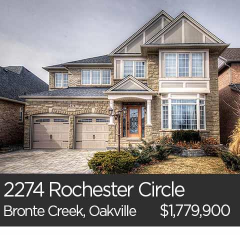 2274 rochester circle bronte creek oakville home for sale