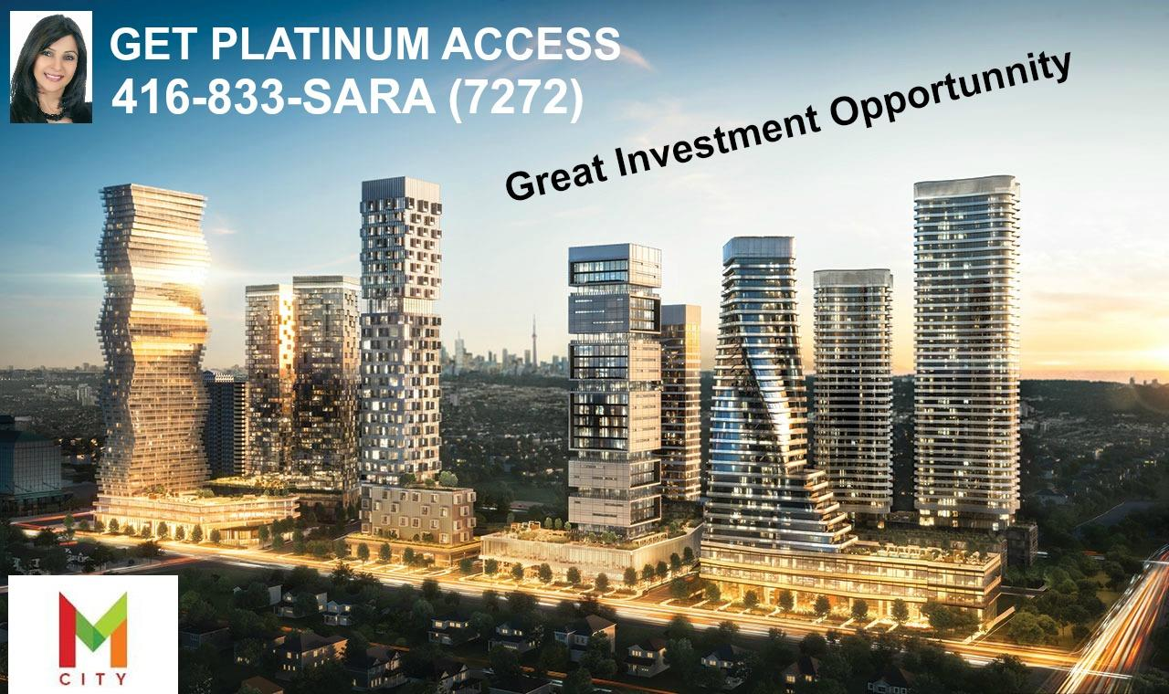 Platinum Access to M-City Condos Mississauga.Sara Kareer