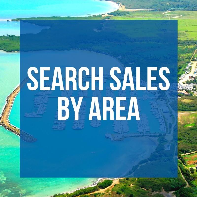 Search Sales by Area