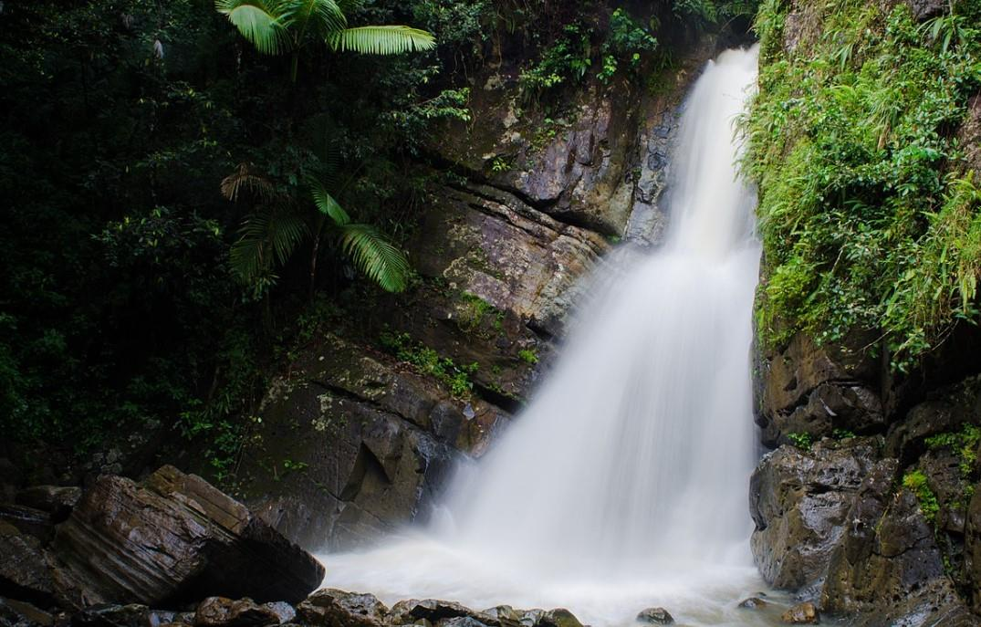 Waterfall in El Yunque