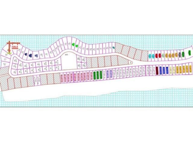 Islas Del Mar Community Map - Rocky Point Real Estate - John Walz