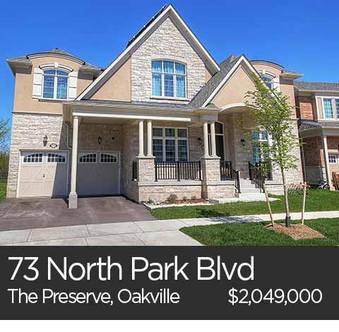 73 north park blvd preserve oakville home for sale