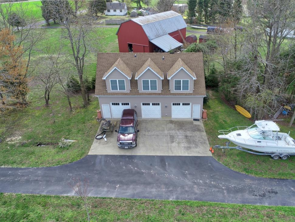 20955 Oakland Hall Road / Avenue MD / St Marys County - 3 Car Detached Garage with Finished Storage Space Upstairs!  Awesome!