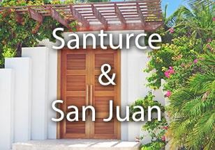 Properties in San Juan and Santurce