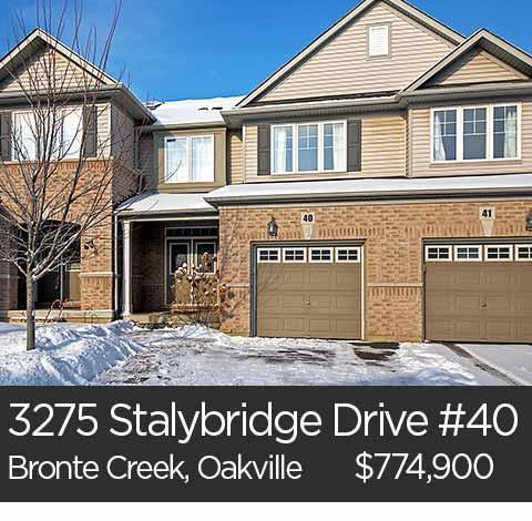 3275 stalybridge drive unit 40 bronte creek oakville