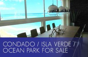 Condado / Isla Verde / Ocean Park for Sale