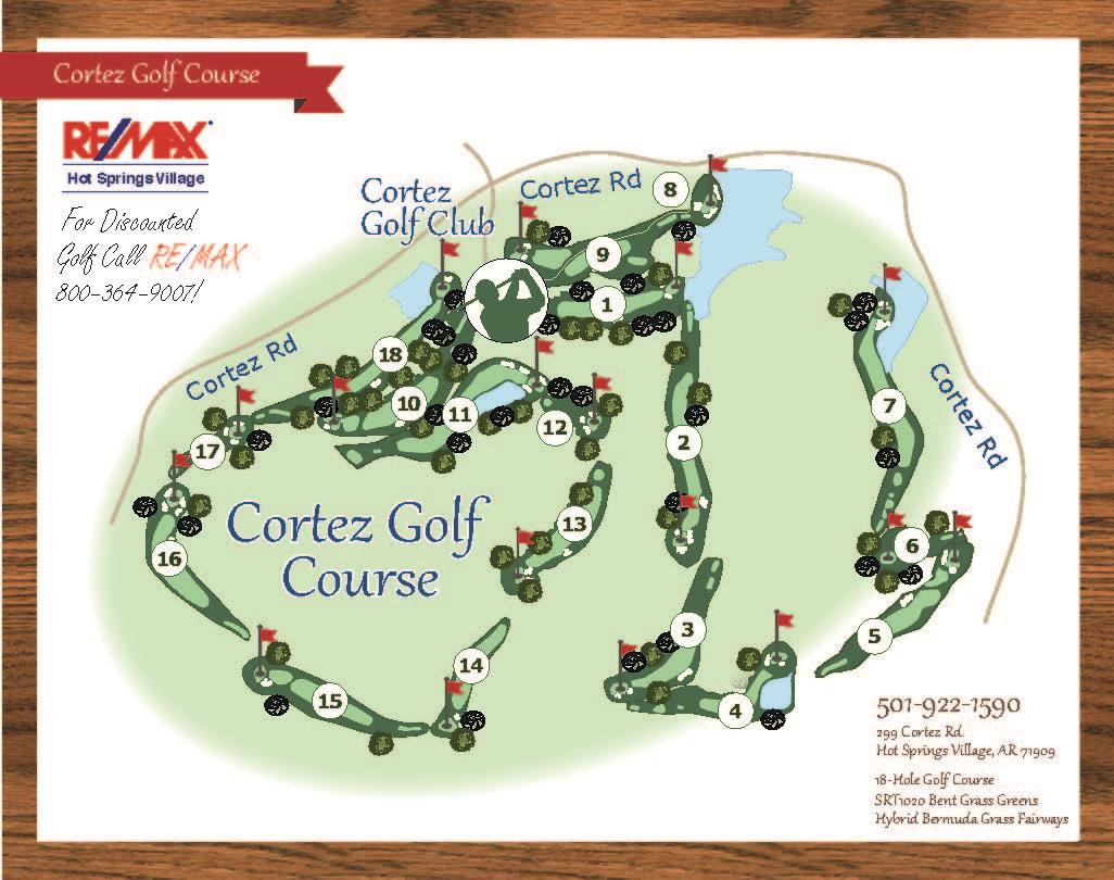 Cortez Golf Course Map