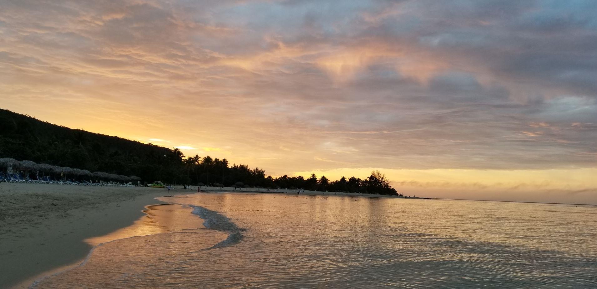Sunset - Memories Jibacoa, Cuba