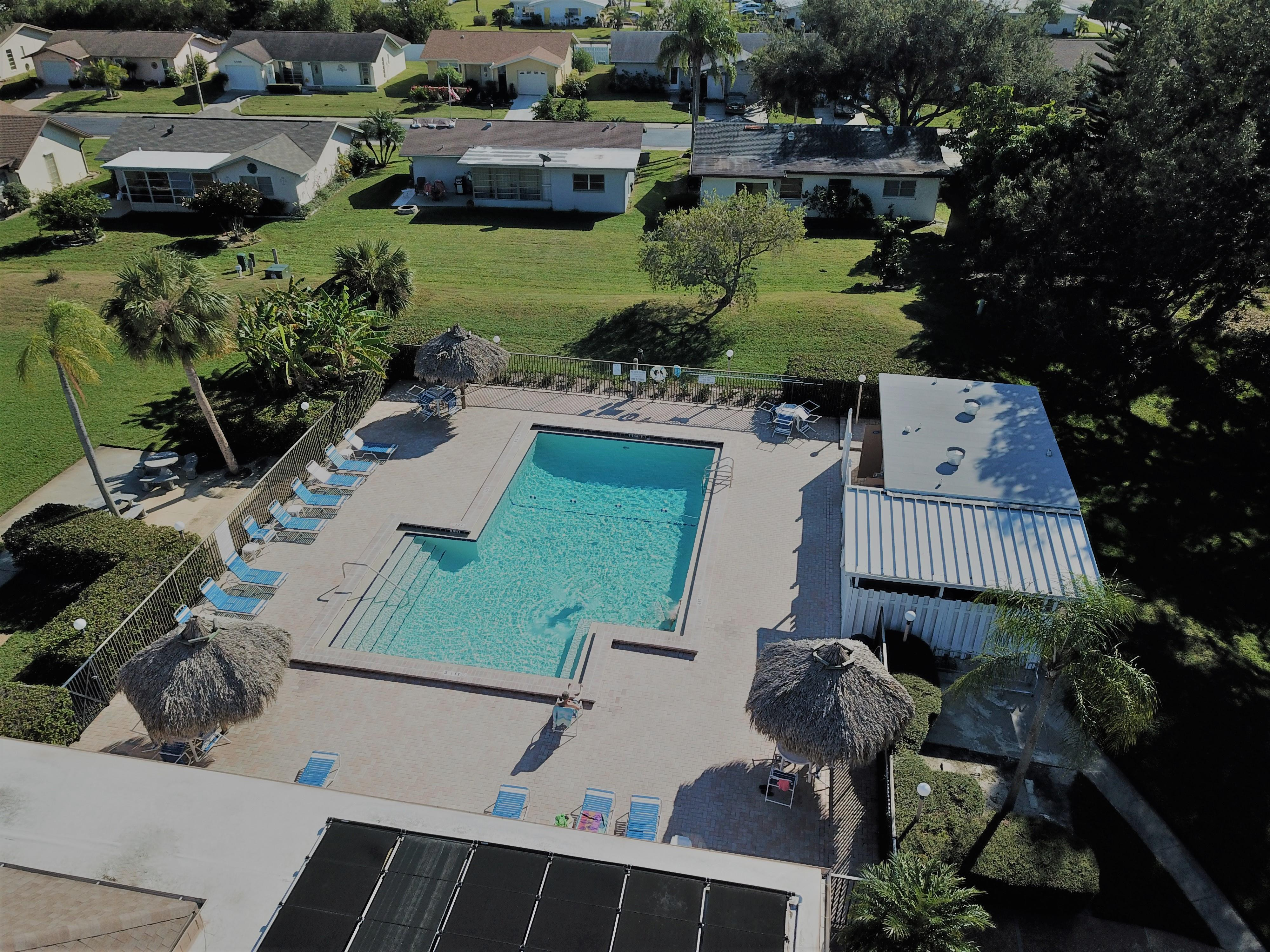 The Lakes 55+ Heated Pool and Club house