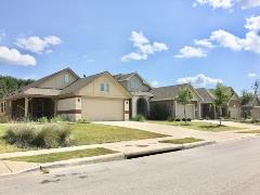 Homes in Buda's Stonewood Commons subdivision