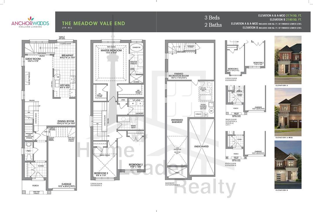 Anchor Woods Floor plan