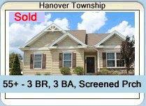 55+ Home Sold in Traditions of America at Hanover