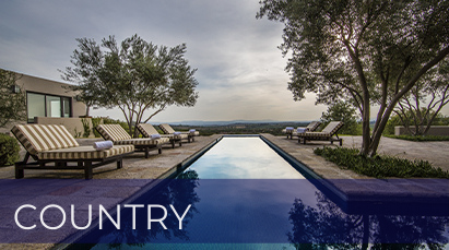 San Miguel de Allende Real Estate Property - Country long pool