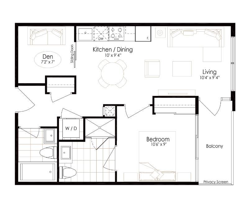 oro condos ruby floor plan