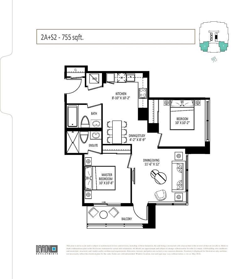 The Vanguard Condos Floor Plans