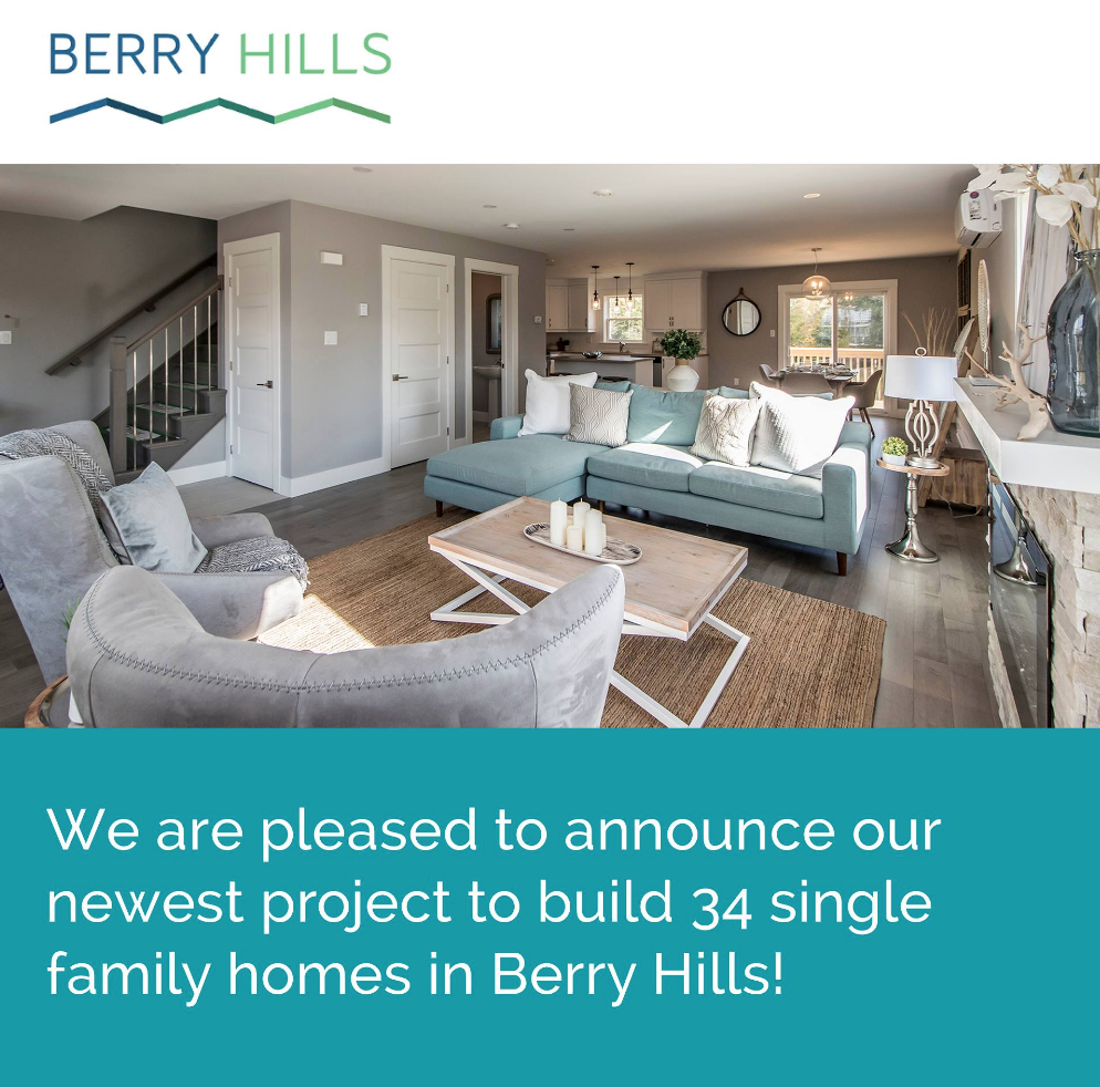 Announcing 34 ATN Homes to be built in Berry Hill