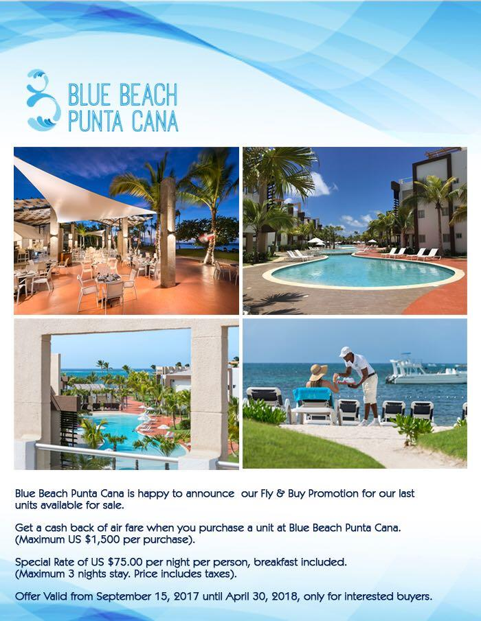 Video Blue Beach Punta Cana Dominican Republic