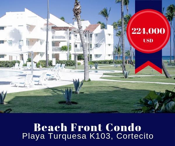 Punta Cana beach condo for sale