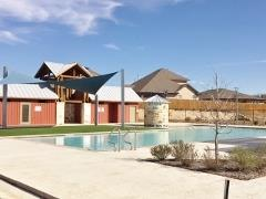 Amenity Center in the Meadows of Kyle subdivision