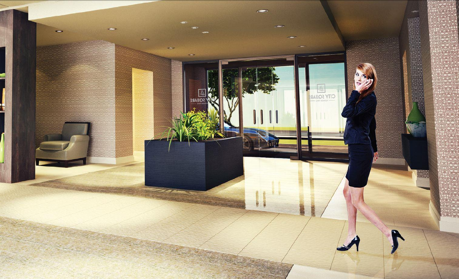 The Gatsy Condos Lobby, Luxury Lifestyle at Affordable First Time Buyers Prices